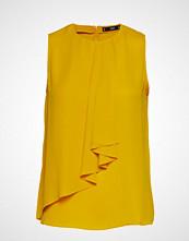 Mango Decorative Ruffle Blouse T-shirts & Tops Sleeveless Gul MANGO
