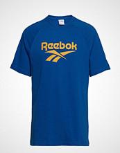 Reebok Classics Cl V P Tee Unisex T-shirts & Tops Short-sleeved Blå REEBOK CLASSICS