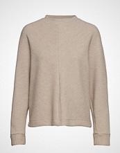 Mango Textured Sweater Strikket Genser Beige MANGO