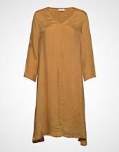 American Vintage Nonogarden Knelang Kjole Gul AMERICAN VINTAGE