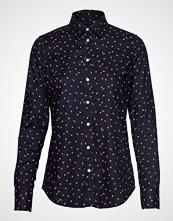 Gant D2. Lure Printed Stretch Oxf Shirt Langermet Skjorte Blå GANT