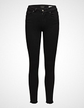 Only Onlblush Mid Sk Ank Rawjns Rea2343 Noos Skinny Jeans Svart ONLY
