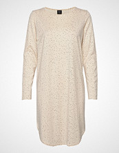 Nanso Ladies Dress, Hiutale Knelang Kjole Creme NANSO