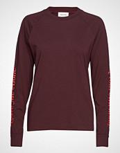 Wood Wood Halli Long Sleeve T-shirts & Tops Long-sleeved Rød WOOD WOOD