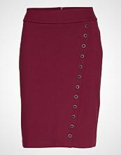 Brandtex Skirt-Jersey Knelangt Skjørt Rød BRANDTEX