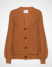 Just Female Sophie Cardigan Strikkegenser Cardigan Oransje JUST FEMALE