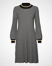 Morris Lady Jaqueline Knit Dress Knelang Kjole Grå MORRIS LADY