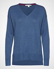 Esprit Casual Sweaters Strikket Genser Blå ESPRIT CASUAL