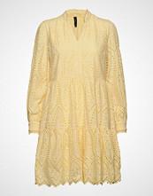 Yas Yasholi Ls Dress D2d Kort Kjole Gul YAS