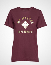 By Malene Birger Elula T-shirts & Tops Short-sleeved Rød BY MALENE BIRGER