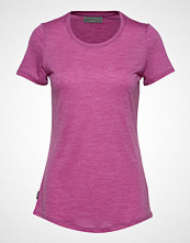 Icebreaker Wmns Sphere Ss Low Crewe T-shirts & Tops Short-sleeved Rosa ICEBREAKER