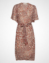 InWear Tallyiw Dress Knelang Kjole Rød INWEAR