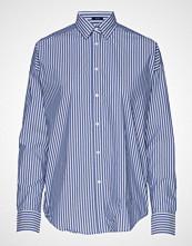 Gant D1. Tp Bc Striped Over D Shirt Langermet Skjorte Blå GANT