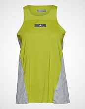 Adidas by Stella McCartney Run Loose Tank T-shirts & Tops Sleeveless Gul ADIDAS BY STELLA MCCARTNEY