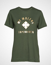 By Malene Birger Elula T-shirts & Tops Short-sleeved Grønn BY MALENE BIRGER