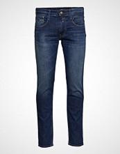 Replay Poly Micro Ripstop Slim Jeans Blå REPLAY