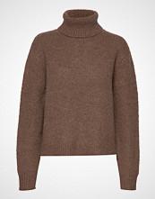 Hope Nova Sweater Høyhalset Pologenser Brun HOPE