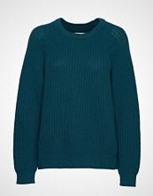 Mads Nørgaard Recycled Favorite Wool Ketty Strikket Genser Grønn MADS NØRGAARD