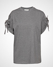 3.1 Phillip Lim Ss Tshirt W Slv Ties T-shirts & Tops Short-sleeved Grå 3.1 PHILLIP LIM