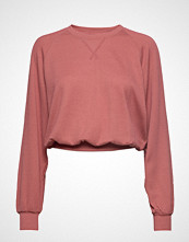 Hollister Longsleeve Boyfriend Top T-shirts & Tops Long-sleeved Rosa HOLLISTER