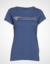 Hummel Hmllucy T-Shirt S/S T-shirts & Tops Short-sleeved Blå HUMMEL