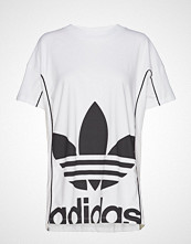 Adidas Originals Long Tee T-shirts & Tops Short-sleeved Hvit ADIDAS ORIGINALS