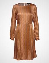 Soft Rebels Sikka Dress Knelang Kjole Gul SOFT REBELS