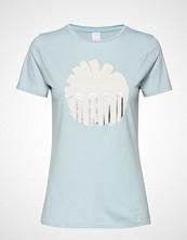 Boss Casual Wear Teblossom T-shirts & Tops Short-sleeved Blå BOSS CASUAL WEAR