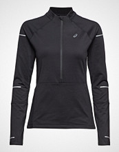Asics Lite-Show Winter Ls 1/2 Zip Top T-shirts & Tops Long-sleeved Svart ASICS