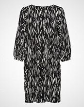 Nanso Ladies Dress, Manteli Knelang Kjole Svart NANSO