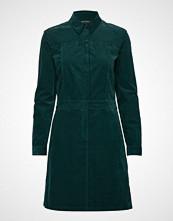 Marc O'Polo Dress, Corduroy Style, Button Plack Kort Kjole Grønn MARC O'POLO