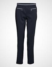 Betty Barclay Trousers Bukser Med Rette Ben Blå BETTY BARCLAY