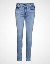 Replay New Luz Hyperflex Clouds Skinny Jeans Blå REPLAY