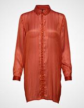 Yas Yasrocka Ls Shirt Langermet Skjorte Rød YAS