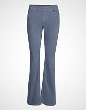 Denim Hunter Dhmolly Bootcut Custom Jeans Sleng Blå DENIM HUNTER