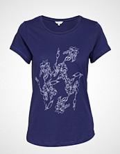 Signal T-Shirt/Top T-shirts & Tops Short-sleeved Blå SIGNAL