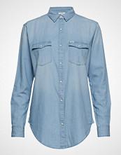 Lee Jeans Regular Western Langermet Skjorte Blå LEE JEANS