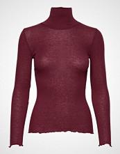 Rosemunde Wool T-Shirt Turtleneck Regular Ls Høyhalset Pologenser Rød ROSEMUNDE