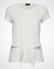 Taifun T-Shirt Short-Sleeve Bluse Kortermet Hvit TAIFUN