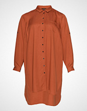 Zizzi Jacacia, Ls, Shirt Langermet Skjorte Oransje ZIZZI