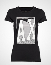 Armani Exchange Ax Woman T-Shirt T-shirts & Tops Short-sleeved Svart Armani Exchange