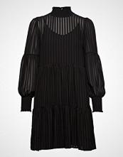 Yas Yasmackie Ls Dress Kort Kjole Svart YAS