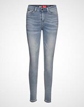 Superdry Super Vintage Skinny Jeans Blå SUPERDRY