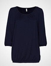 Soyaconcept Sc-Marica T-shirts & Tops Long-sleeved Blå SOYACONCEPT