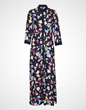 Yas Yashannah 3/4 Shirt Ankle Dress Maxikjole Festkjole Multi/mønstret YAS
