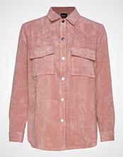 Gina Tricot Cory Corduroy Shirt Langermet Skjorte Rosa GINA TRICOT