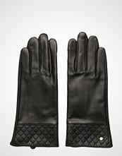 Edblad Tiles Leather Glove Black Hansker Svart EDBLAD