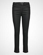Mango Crop Skinny Isa Jeans Skinny Jeans Svart MANGO