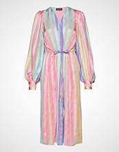 Stine Goya Violet, 570 Printed Poly Knelang Kjole Rosa STINE GOYA