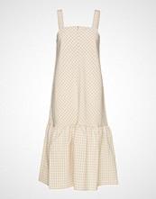 Résumé Oxford Dress Knelang Kjole Beige RÉSUMÉ